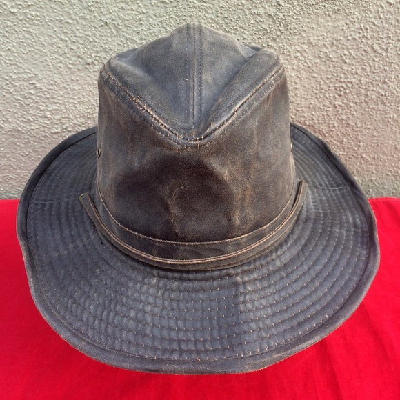 b72025ad7ab Dorfman Pacific Other - Dorfman Pacific Weathered Cotton Outback Hat